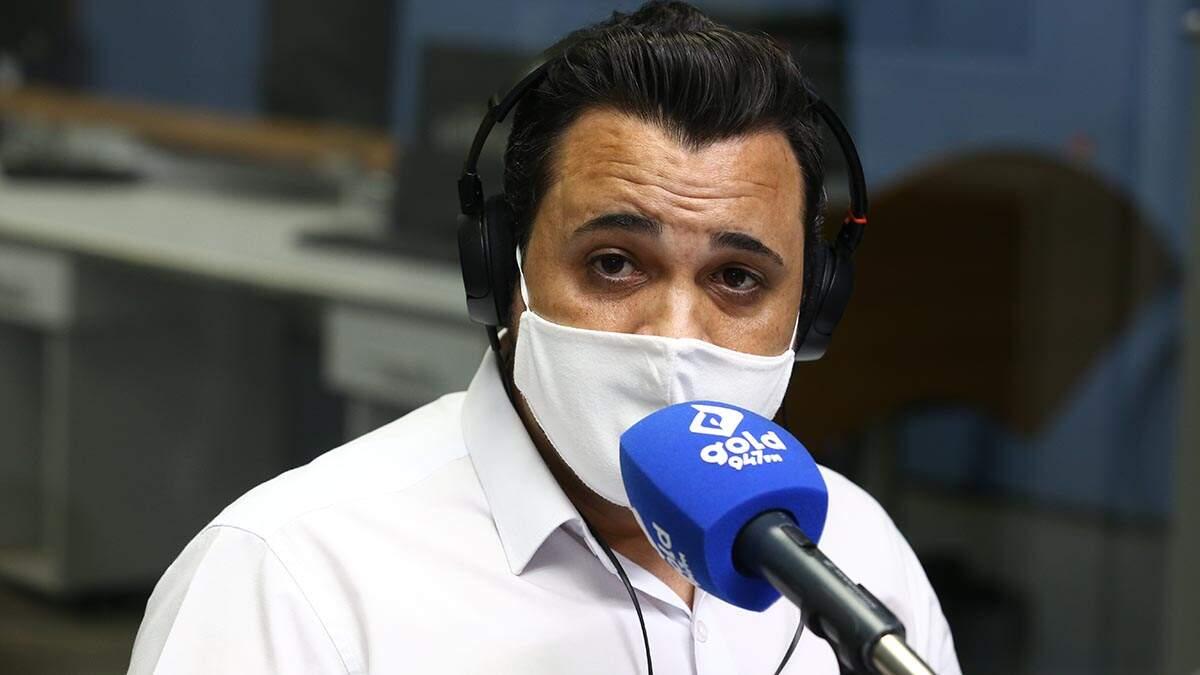 Fabiano Pinguim quer hospital público, ampliação de UTIs e telemedicina em Santa Bárbara