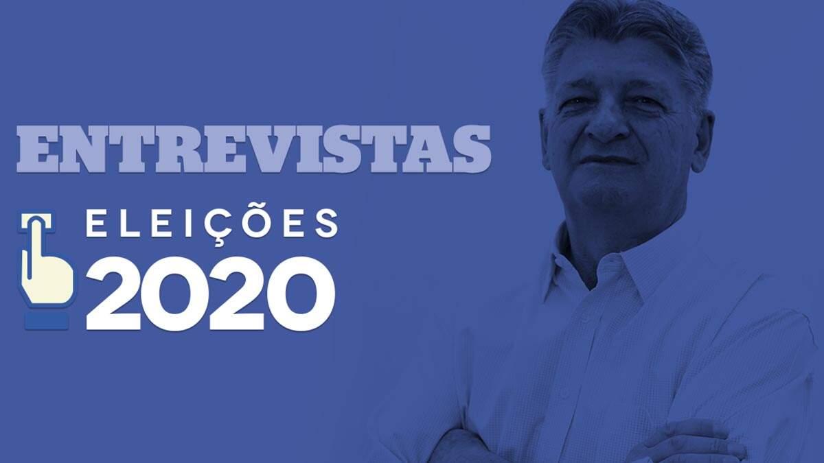 Major Crivelari, candidato a prefeito de Americana, é entrevistado pelo LIBERAL