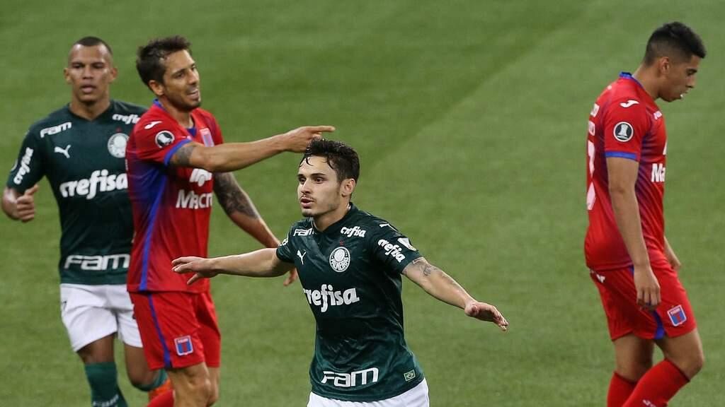 Palmeiras goleia Tigre e tem melhor campanha fase de grupos