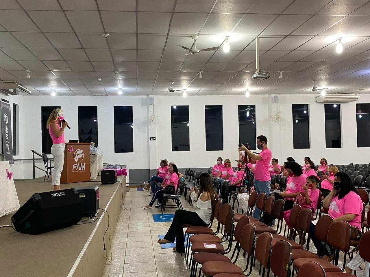 Rosa do Bem fecha parcerias com a FAM e o Instituto Patrícia Lacombe