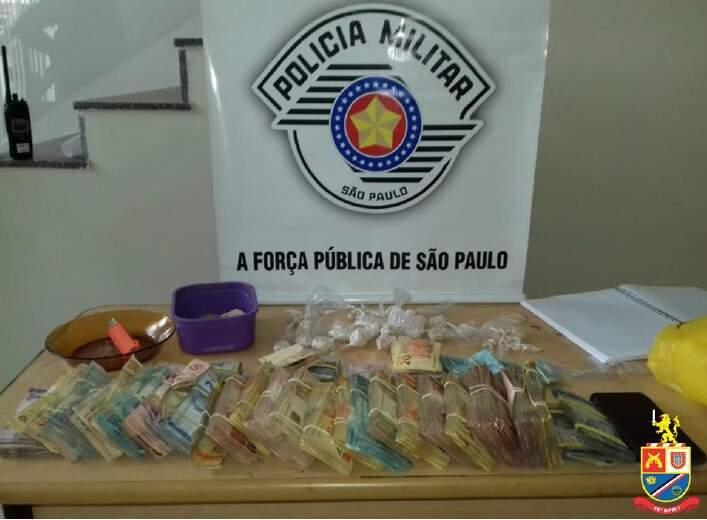 Trio é preso em Sumaré com R$ 57 mil e drogas