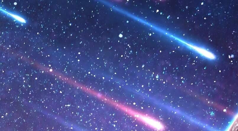 Detritos do Cometa Halley provocam chuva de meteoros nesta madrugada