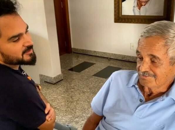 'Não pude me despedir do meu pai', desabafa Luciano, com Covid-19