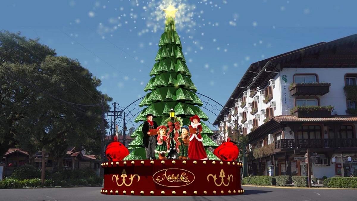 Natal Luz de Gramado 2021 terá início em 28 de outubro