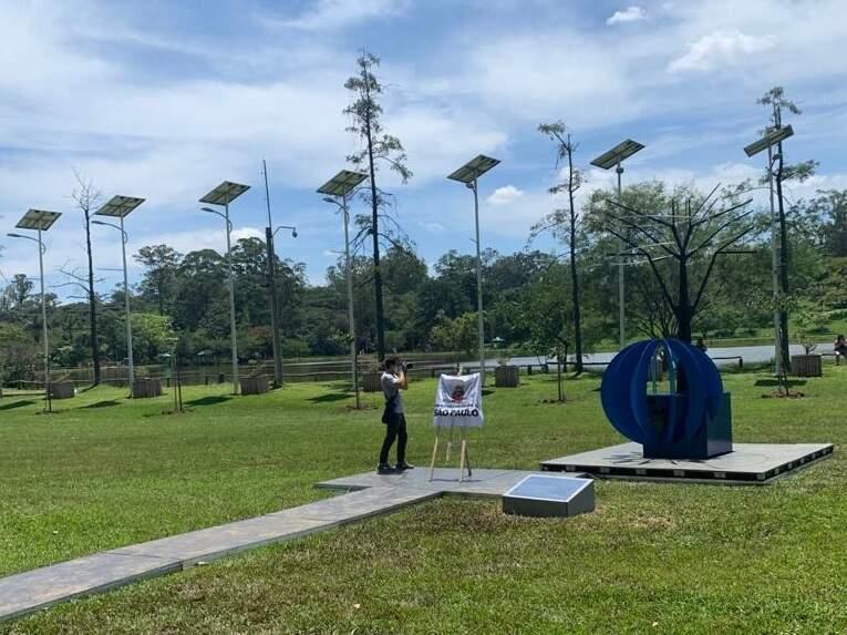 Com participação de Americana, ação cria monumento às vítimas da Covid-19 em São Paulo