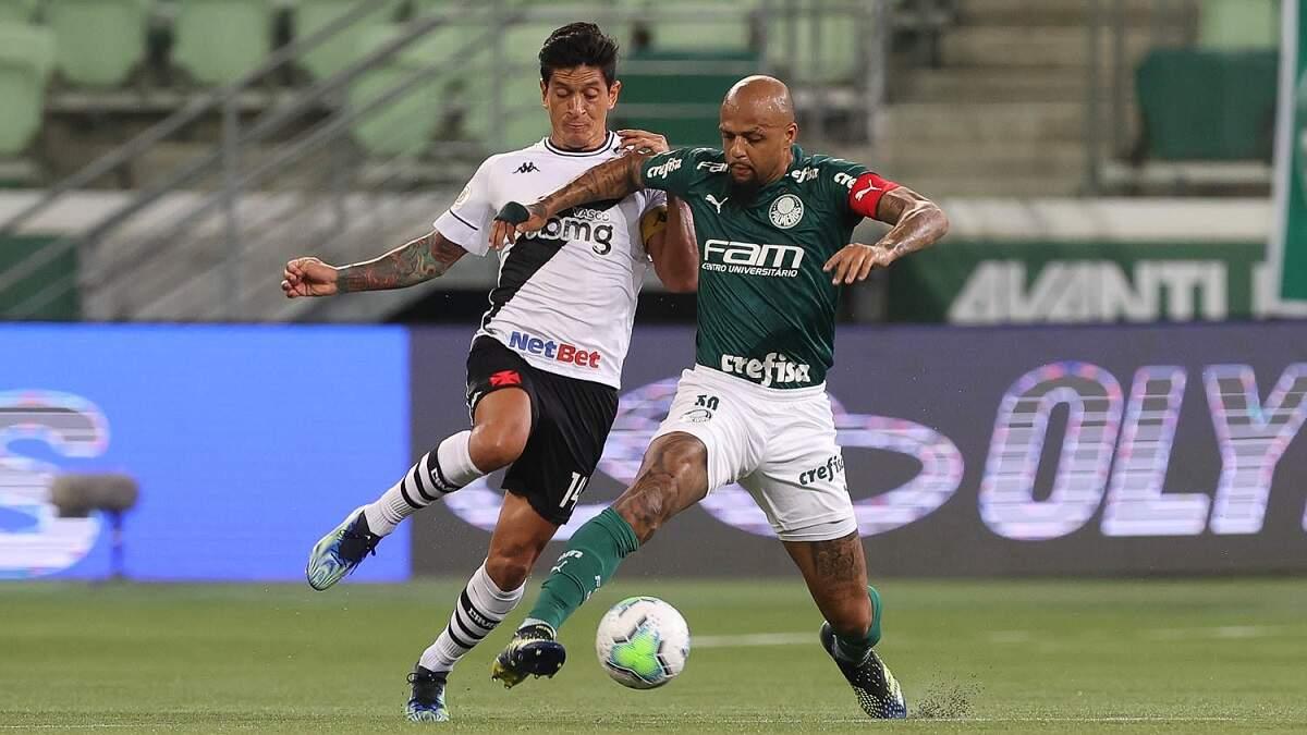 No reencontro com Luxemburgo, Palmeiras e empata com o Vasco