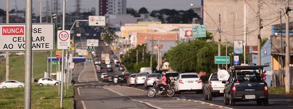Prefeitura realiza estudo sobre tráfego de veículos na Avenida São Paulo