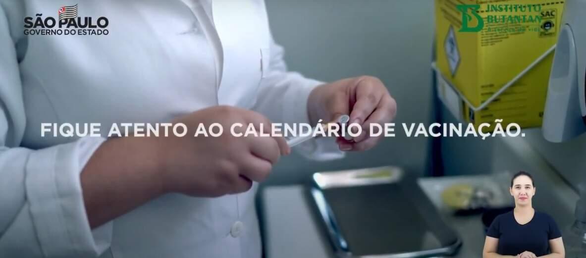 Governo de SP lança campanha para incentivar vacinação contra coronavírus