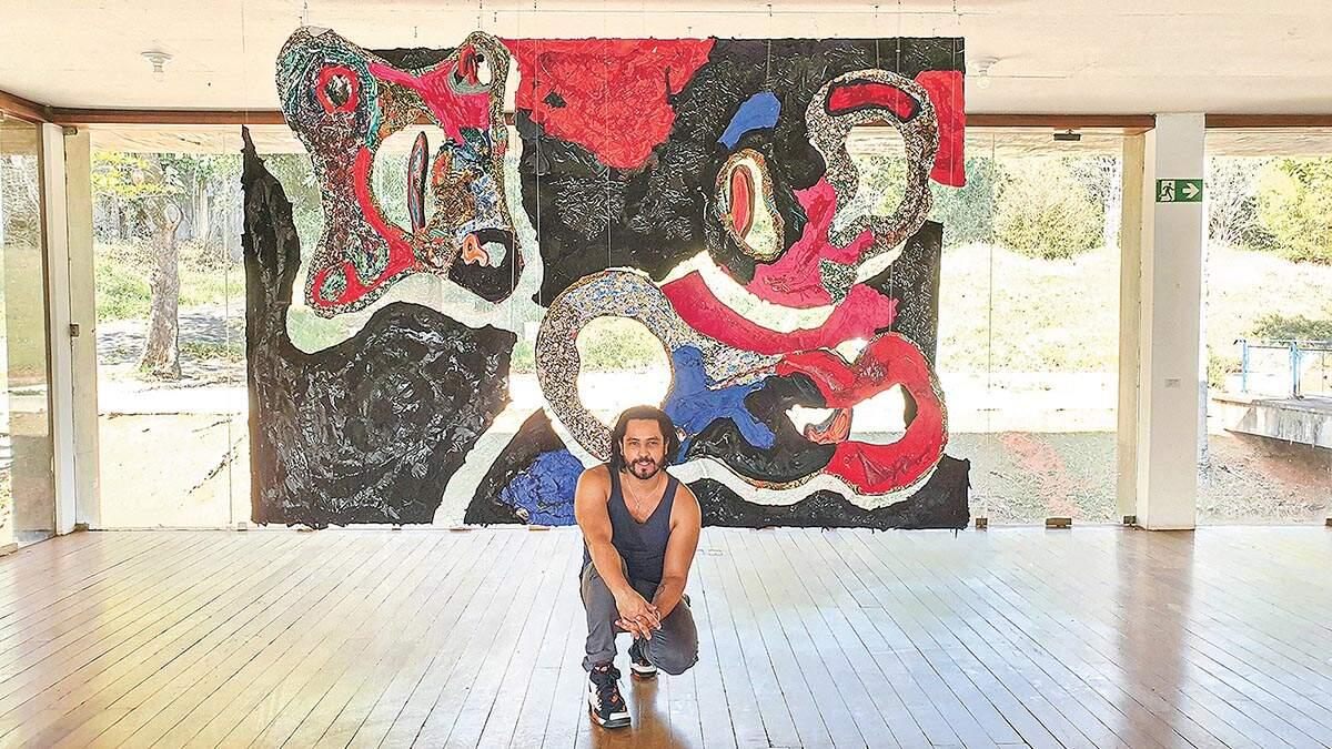 Artista plástico americanense integra acervos renomados no mercado das artes