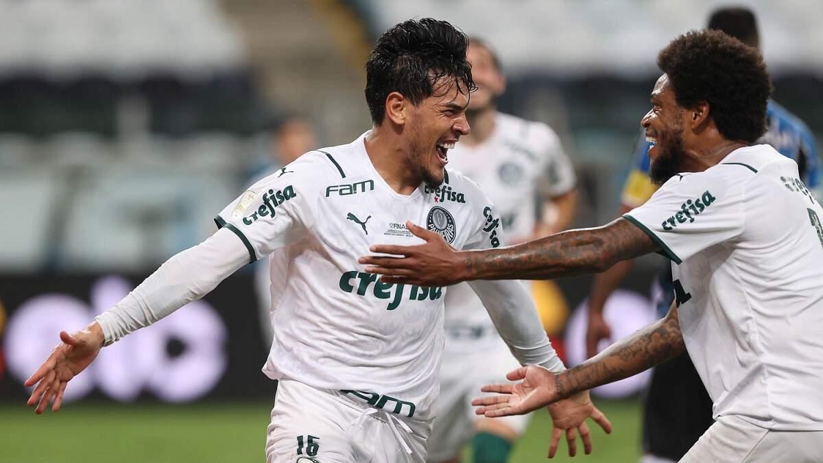 Fora de casa, Palmeiras faz 1 a 0 no Grêmio e larga na frente na decisão
