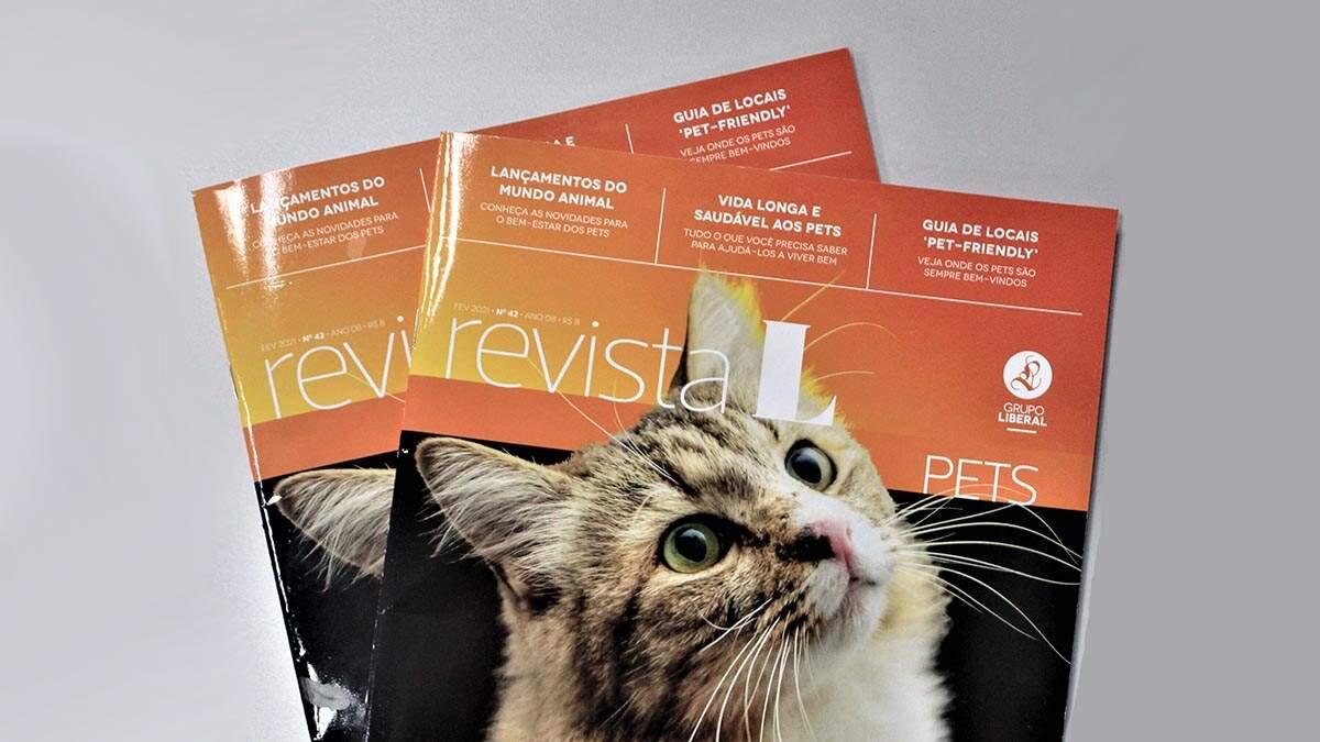 Revista L Pets chega aos assinantes nesta quinta-feira