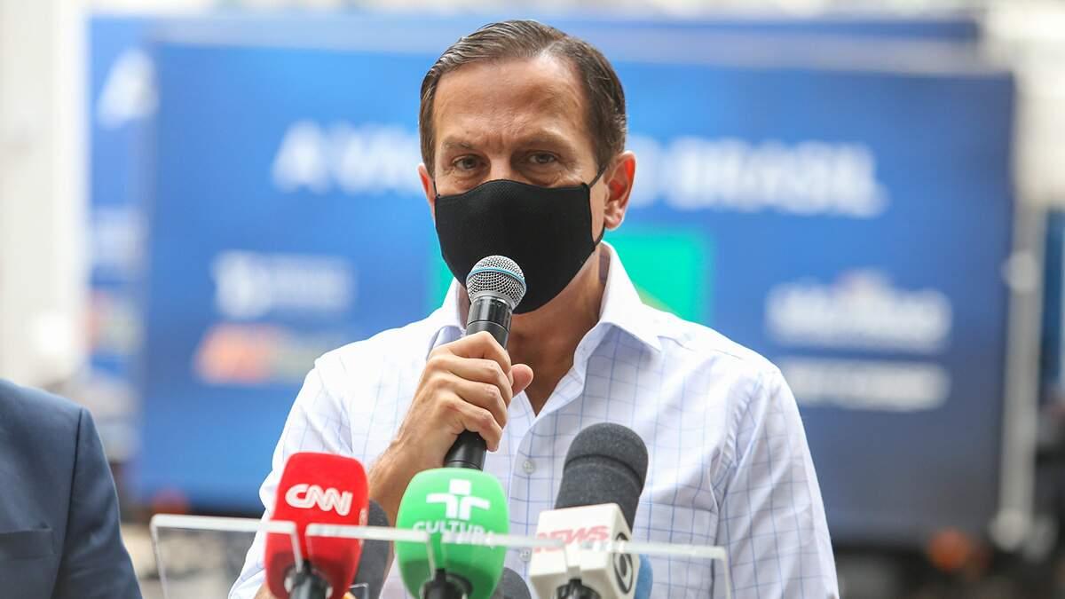 Doria assume que antipetismo será linha 'predominante' de sua campanha