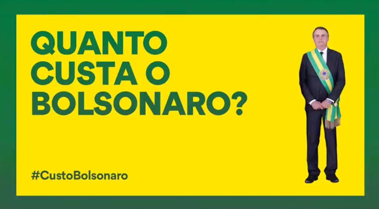 'Custo Bolsonaro': vídeo sobre 'prejuízos' do presidente ao País viraliza