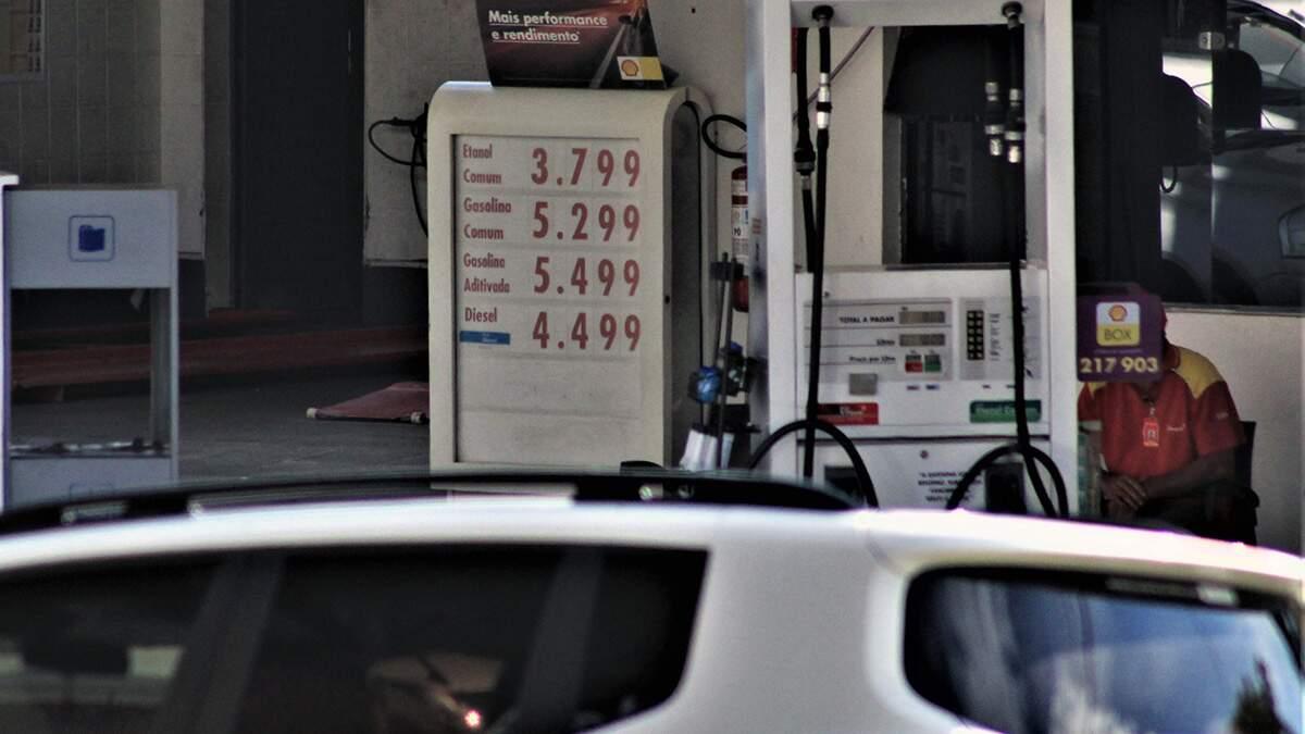 Gasolina já sai por R$ 5,29 em Americana e pode subir ainda mais