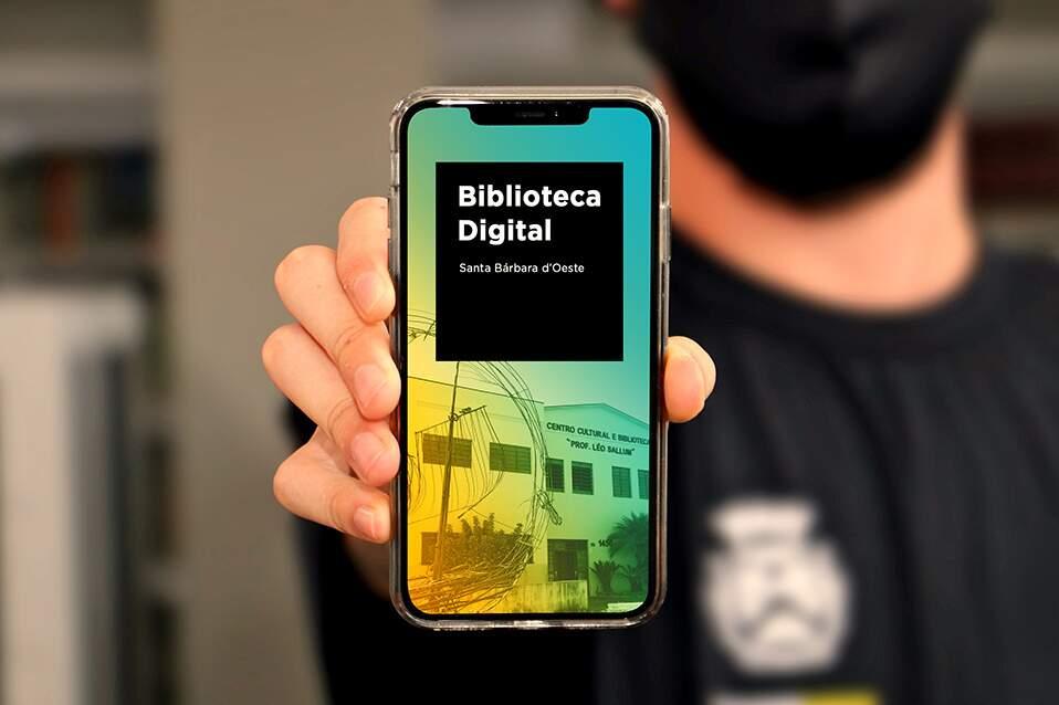 Prefeitura de Santa Bárbara lança biblioteca digital com ebooks gratuitos