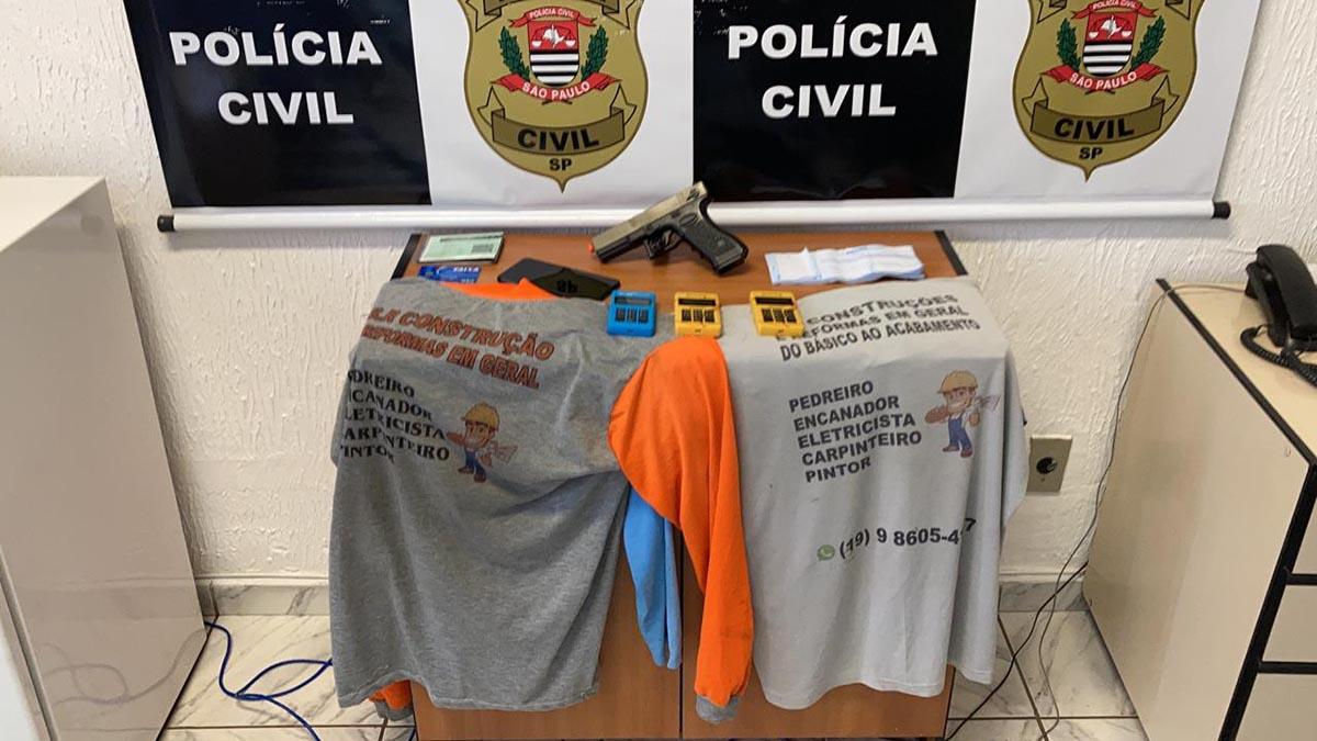 Policiais de Nova Odessa prendem golpistas em Piracicaba