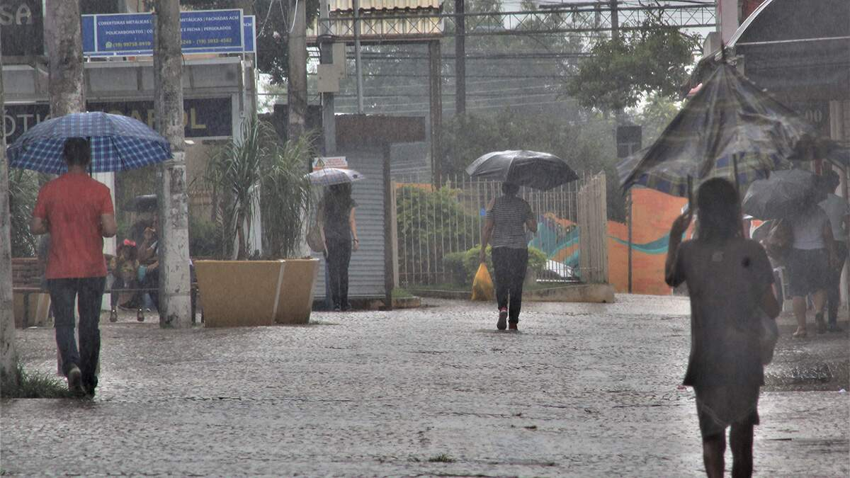 Americana tem trimestre mais chuvoso dos últimos cinco anos