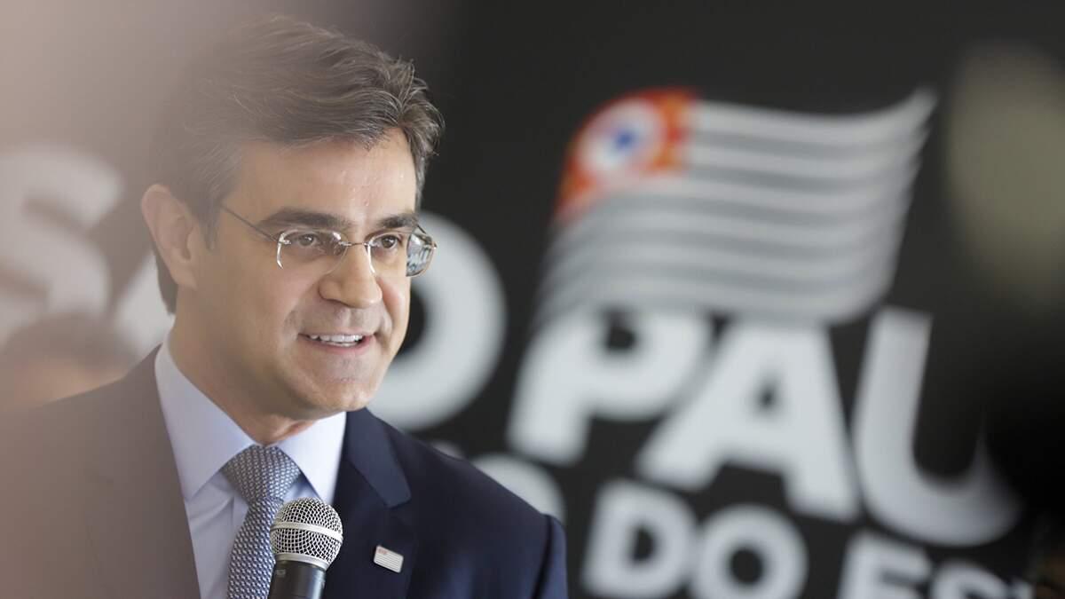 Vice-governador, Rodrigo Garcia participa de evento em Santa Bárbara