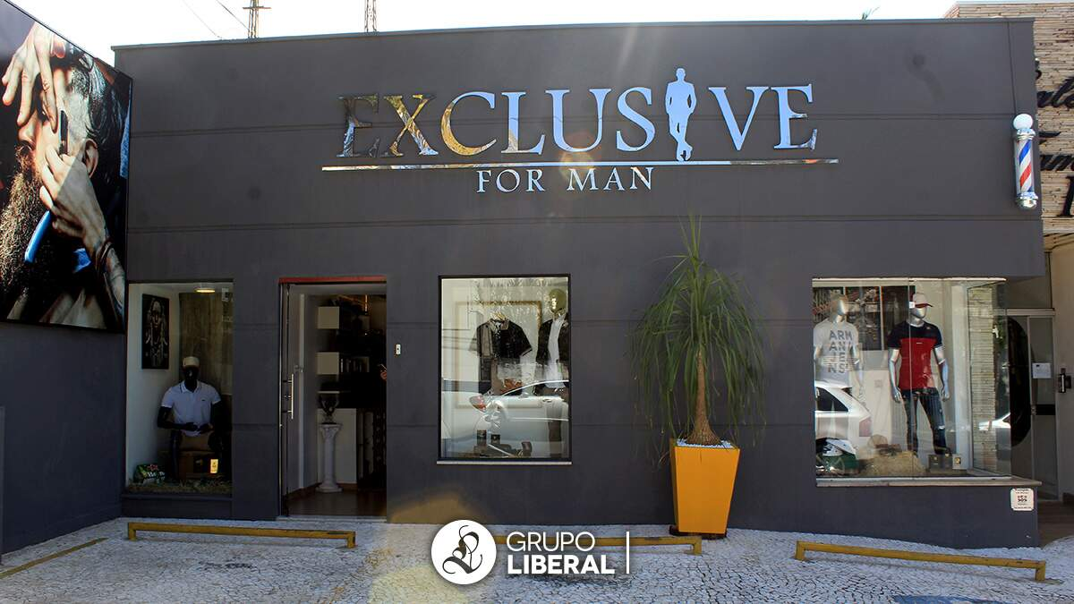 Inauguração da Exclusive For Man