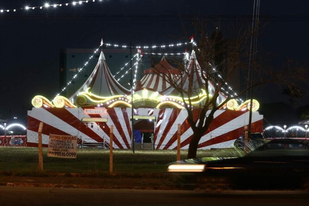 Comerciantes e empresários  criticam presença de circo em Americana