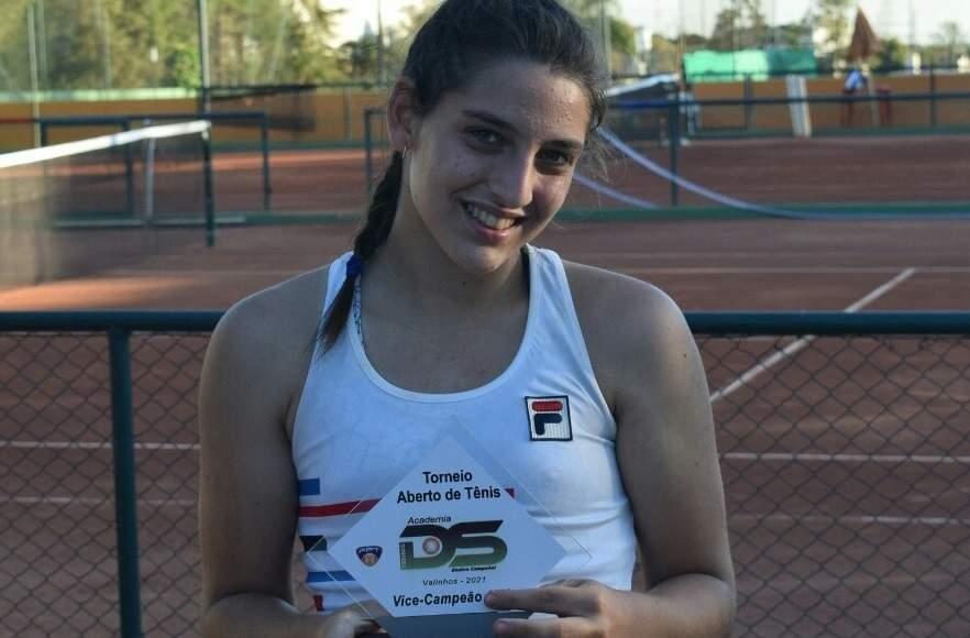 Atleta de Nova Odessa é vice-campeã em torneio da Federação Paulista de Tênis