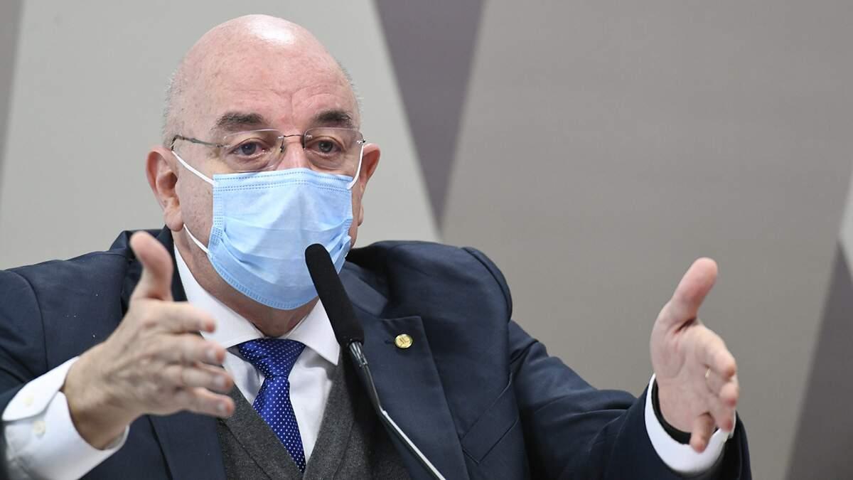 Osmar Terra volta defender imunidade de rebanho na CPI da Covid