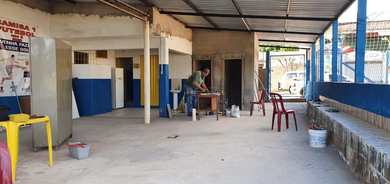 Camisa 1 promove feijoada solidária para obras no Campo do Laranja