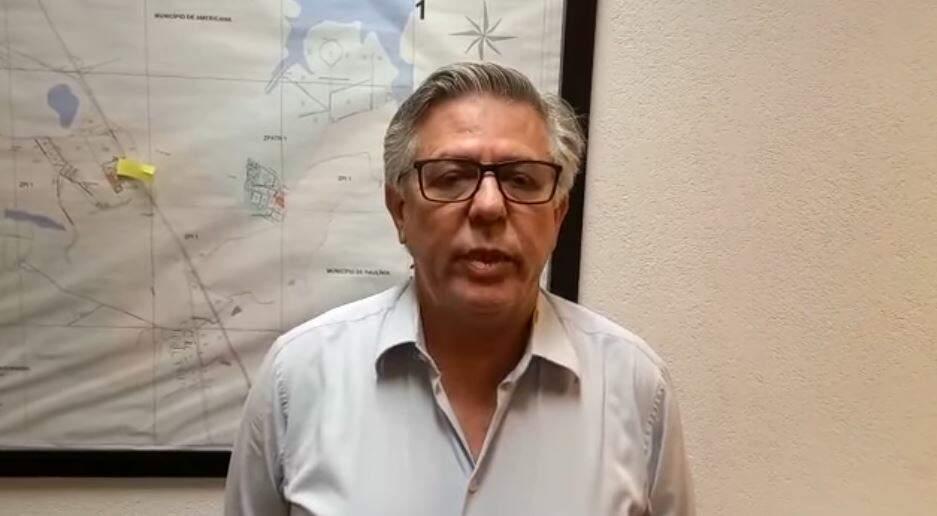 Dr. Nivaldo anuncia saída da Saúde de Nova Odessa por meio de vídeo em rede social