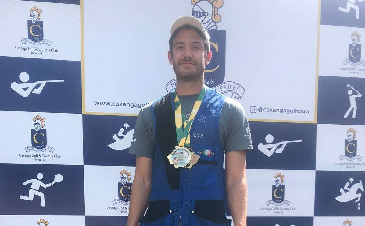Afonso Fortunato conquista ouro e bronze na Regional Nordeste de Tiro