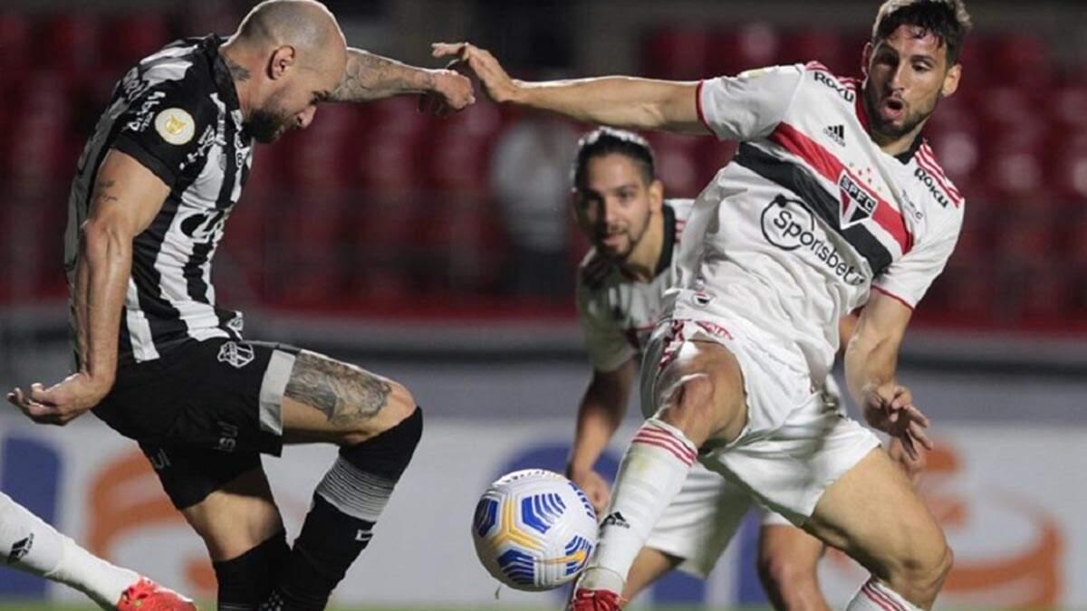 Na estreia de Ceni, São Paulo conquista seu 6º empate consecutivo
