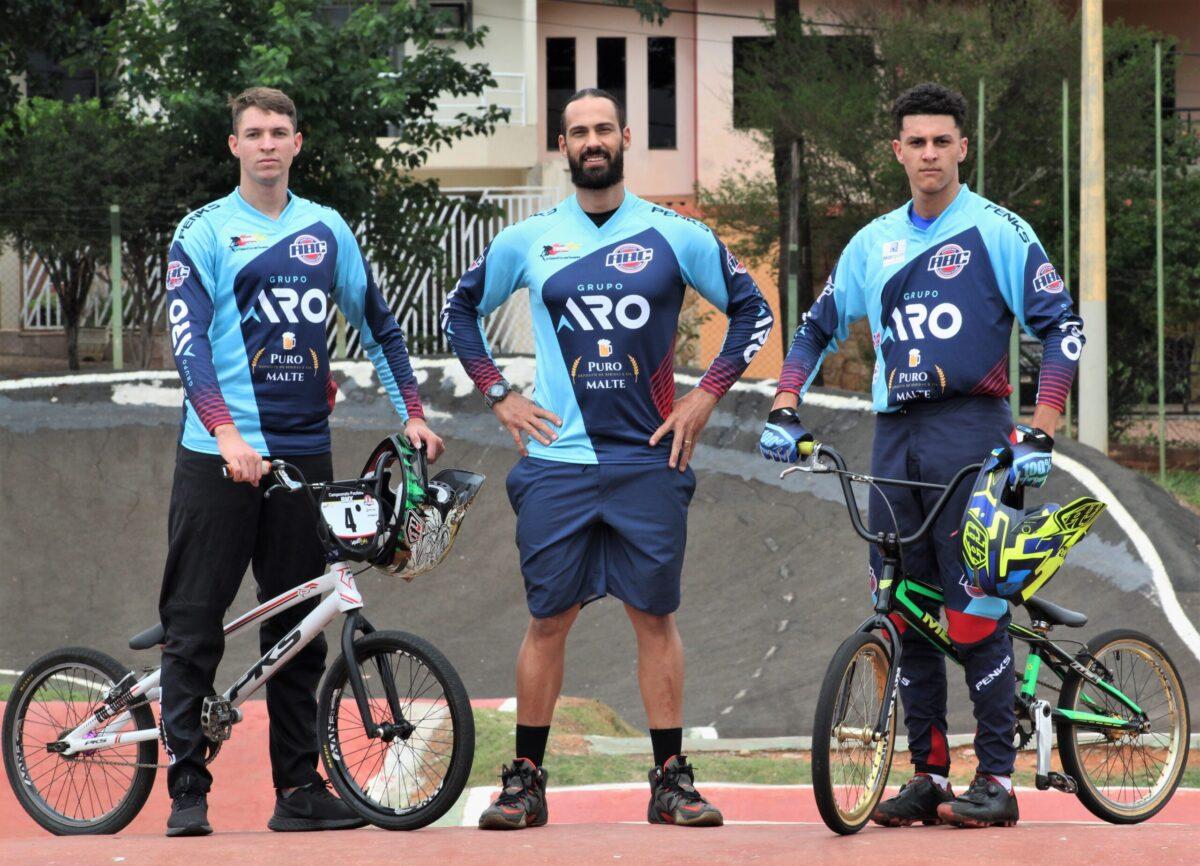 Trio de Americana vai representar o País no Pan-Americano de BMX, no Peru