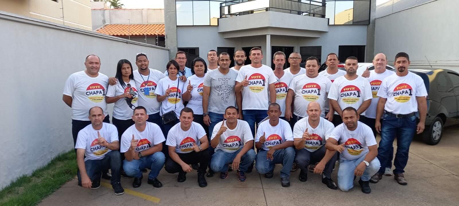 Diretoria do Sindicato dos Trabalhadores em Transportes Rodoviários toma posse